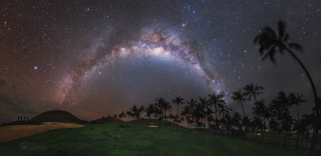 Anakena Milky Way