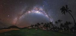 Anakena Con Vía Láctea