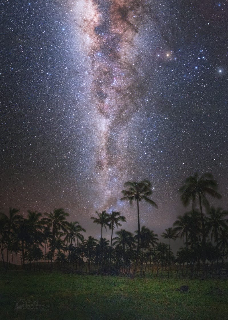Polynesian Milky Way