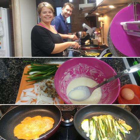 Frode Hansen&Laila Lorentsen_(vegetable pancake/부침개)