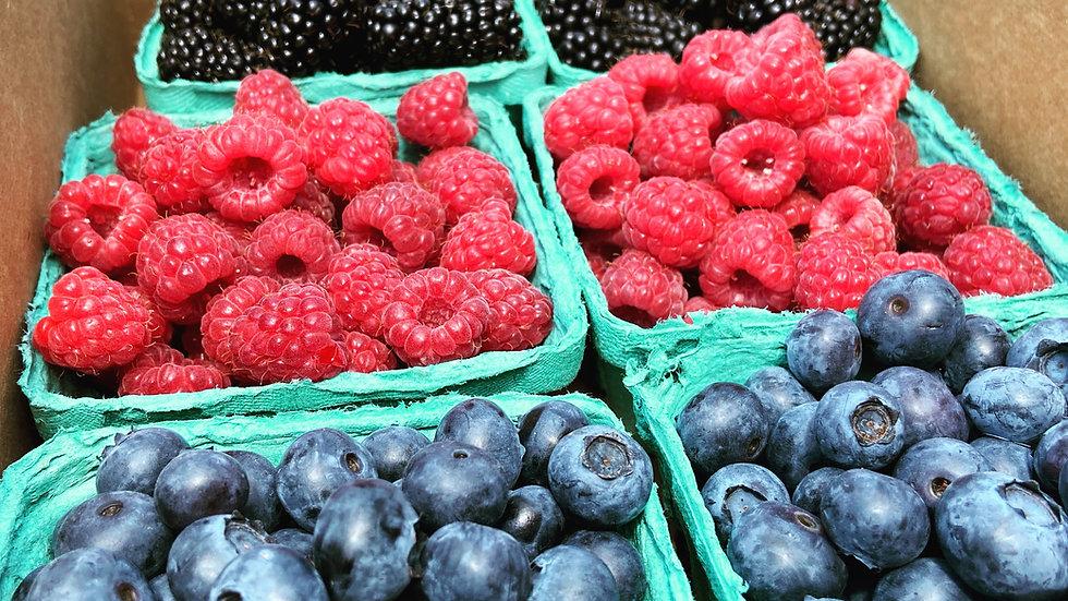 Mixed Berry Flat