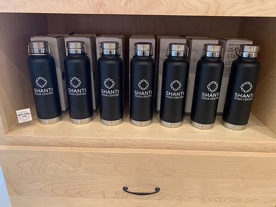 Shanti Yoga Center Water Bottle (25 oz)