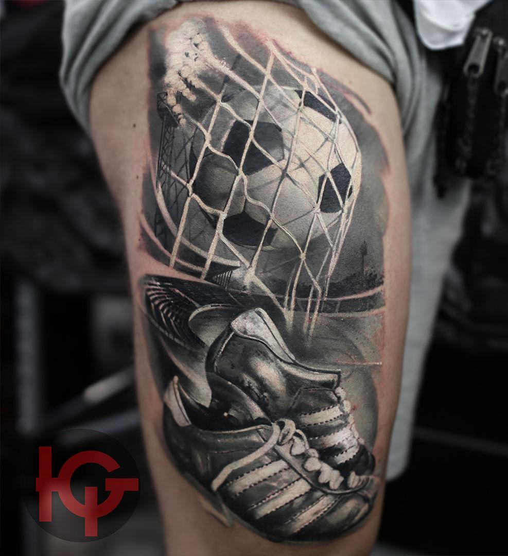 tattoo football