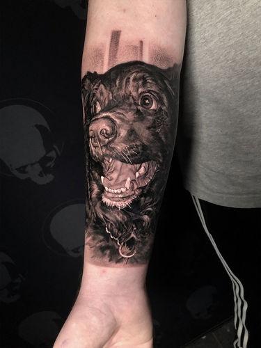 tattoo dog