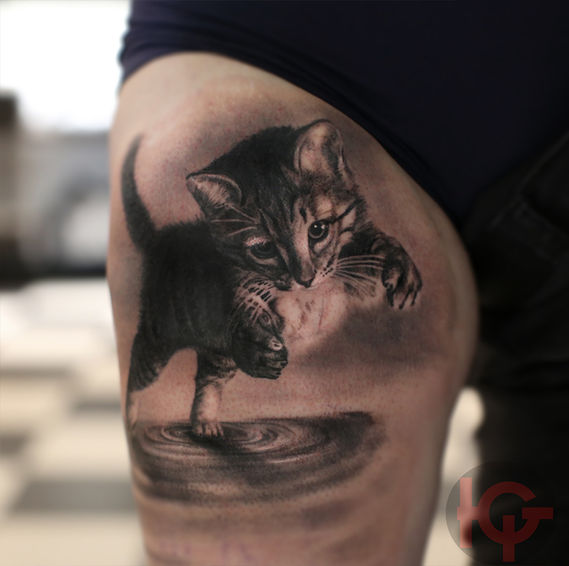 tattoo kitty