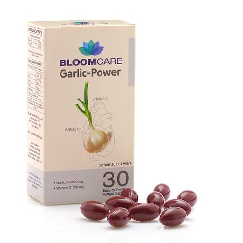 Bloomcare Garlic-Power 30 Softgels
