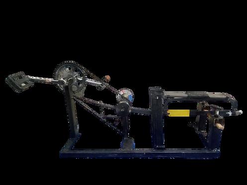 KM27 pedal power hacksaw &Graining machine