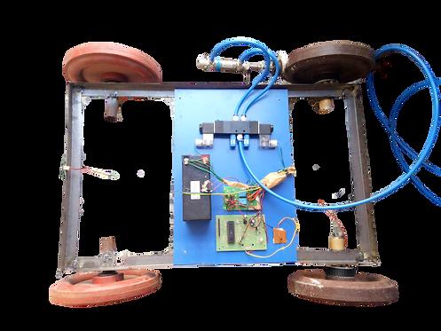 KM75 pneumatic Intelligent braking system
