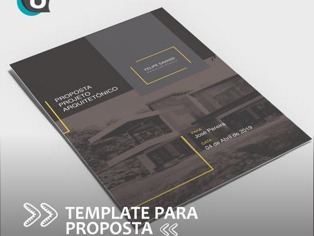 Como elaborar o template para apresentar o seu projeto