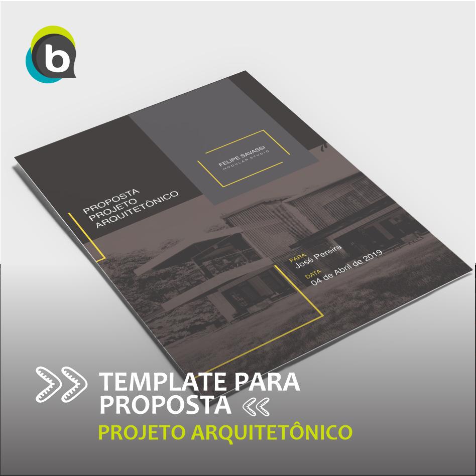 Template de proposta de projeto arquitetônico para @felipesavassi