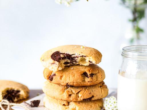 Cookies aux cacahuètes et fève de tonka