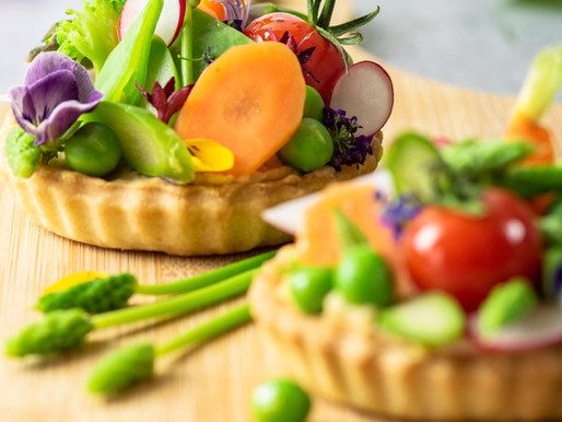 Tartelettes au légumes printaniers