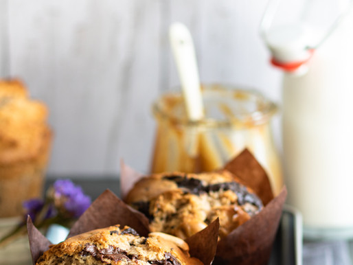 Muffins façon snickers