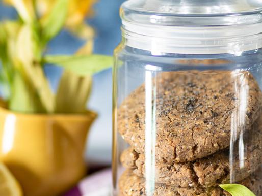 Cookies au citron et pavot