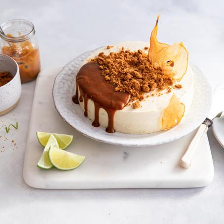 Cheesecake au chocolat blanc déstructuré