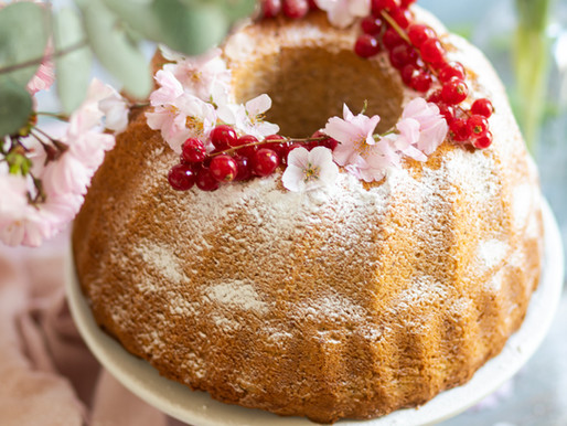 Bundt cake à la fleur d'orange