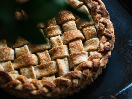 Tarte aux pommes quadrillée - Vegan