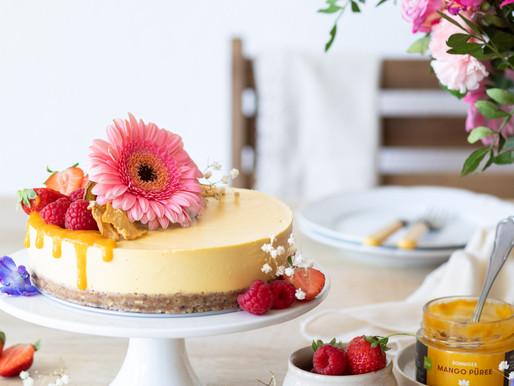 Entremet à la mangue - Vegan & Sans gluten