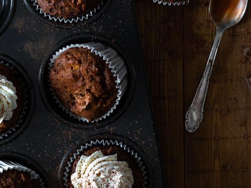 Muffin banane chocolat - Vegan Sans gluten