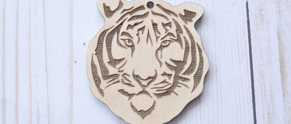 Tiger Face Ornaments