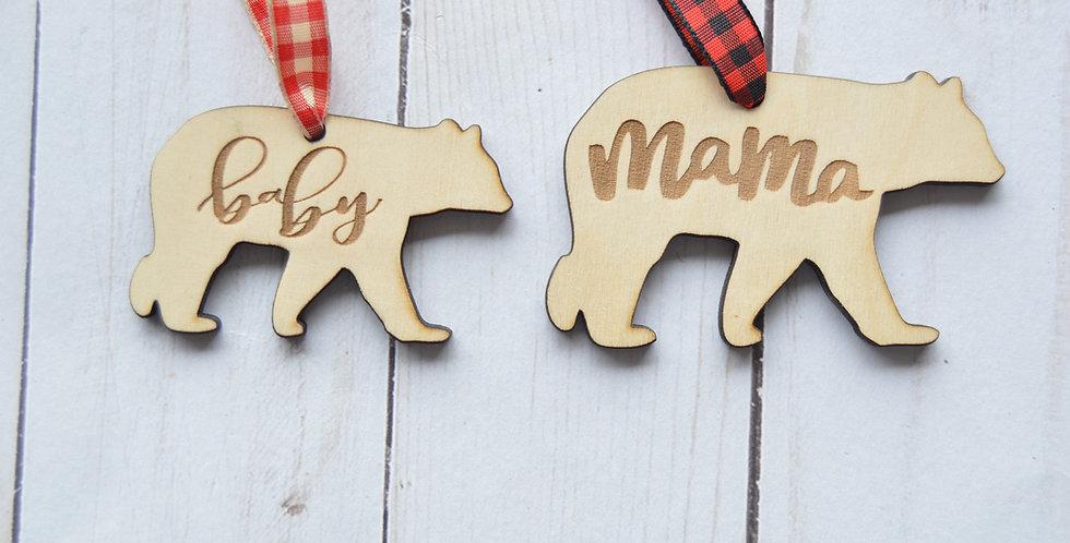 Mama Bear/Baby Bear Set
