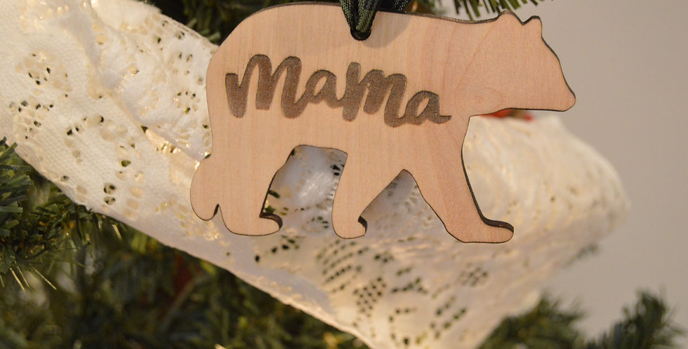 Mama Bear Ornament