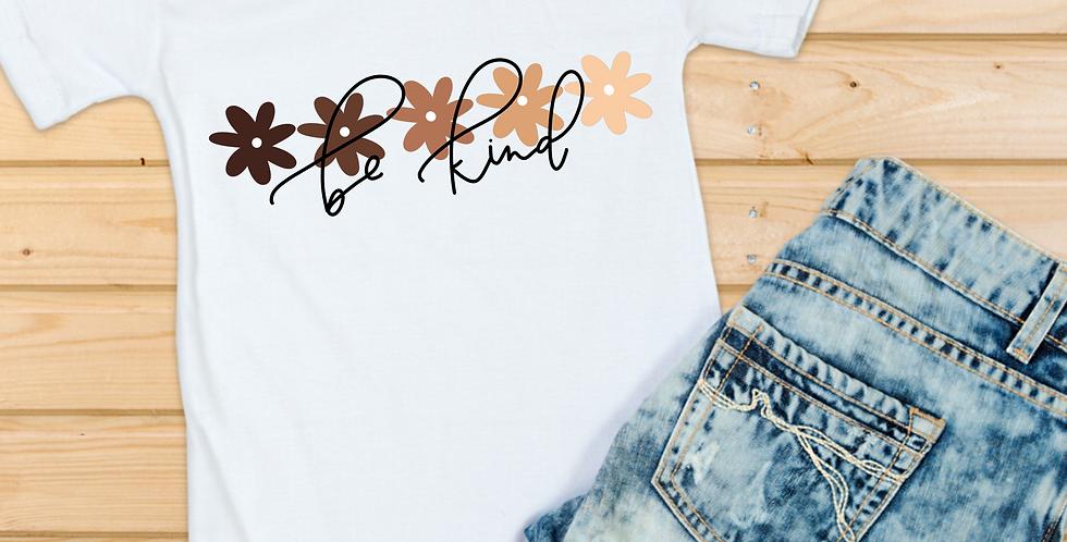 Be Kind Flower T-Shirt