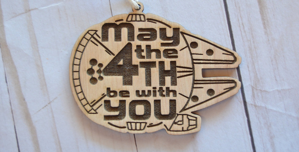May the 4th be with You Ornament