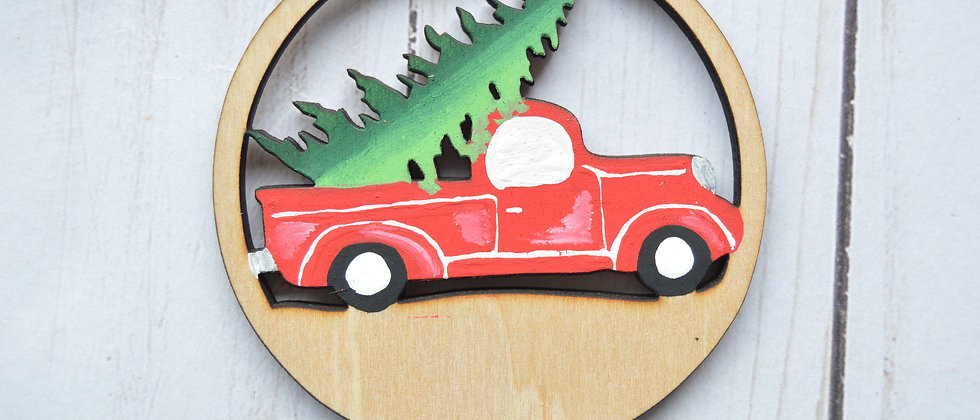 Vintage Truck (to personalize)