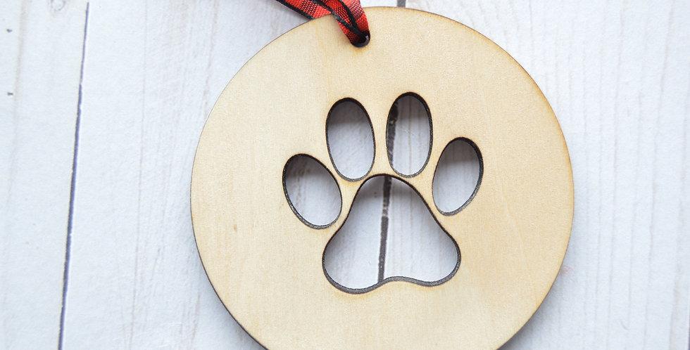 Paw Ornament