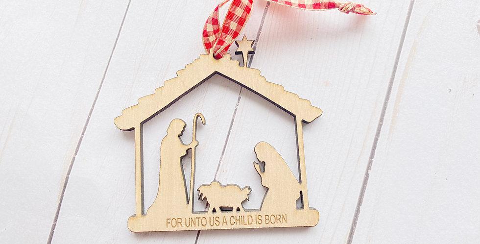 Nativity + Engraving