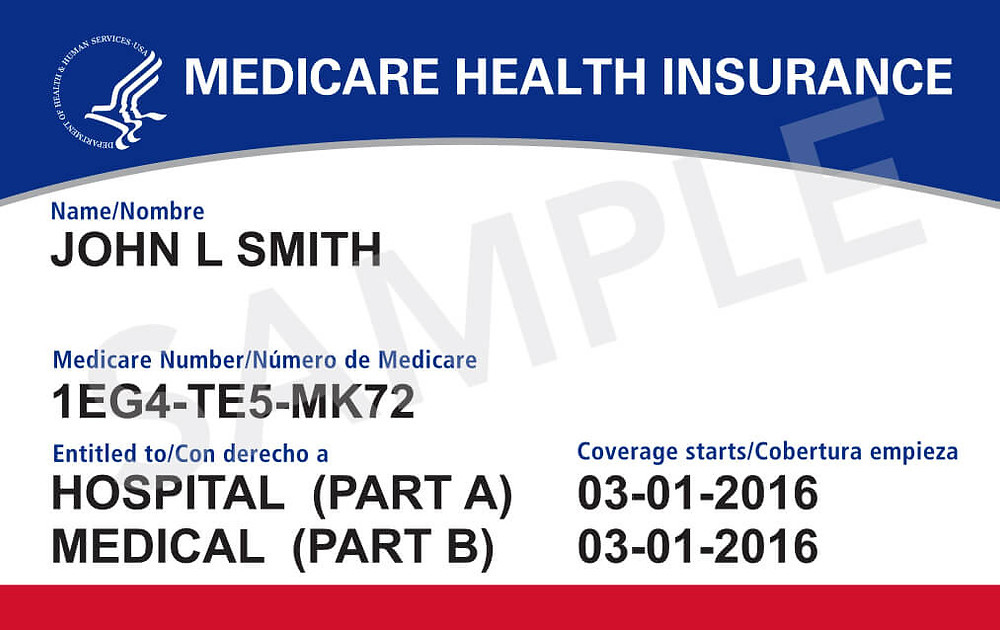 Medicare Card New Release April, 2018