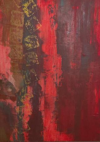 Red Haze. Acrylic. LComfort. Nfs