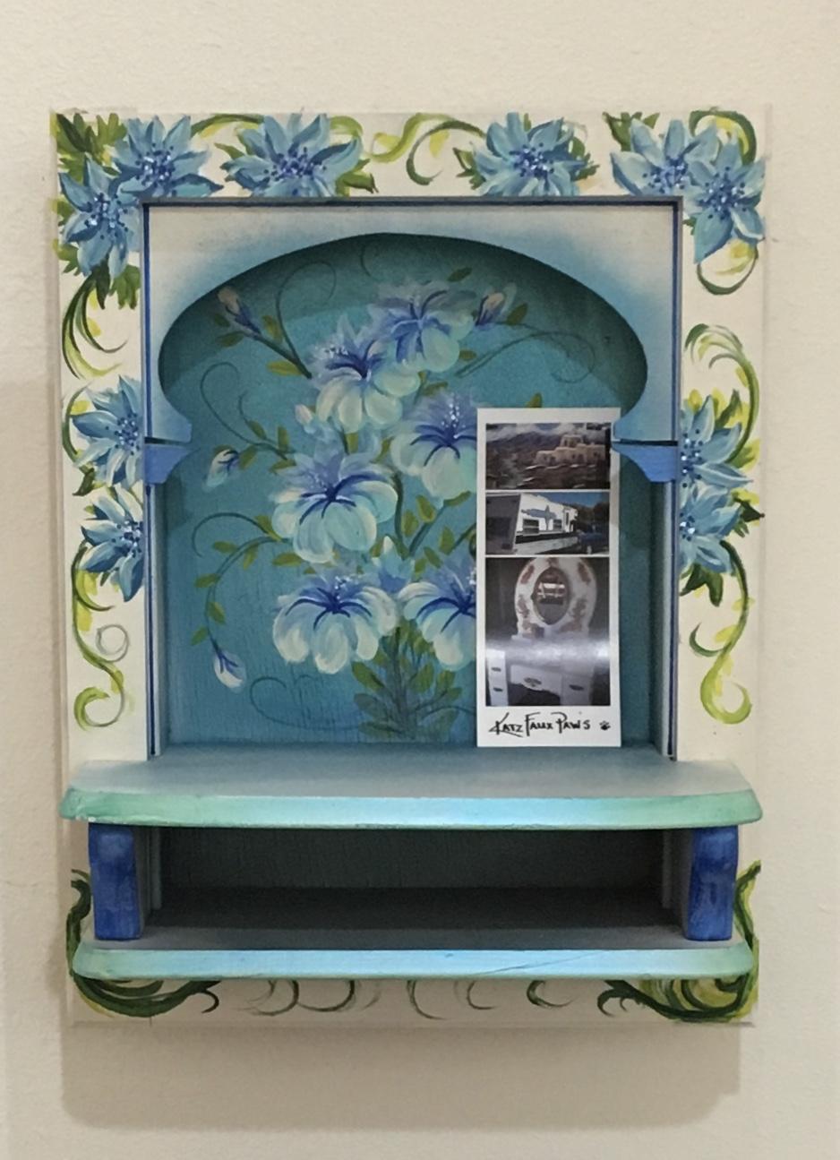 Blue Flower Niche