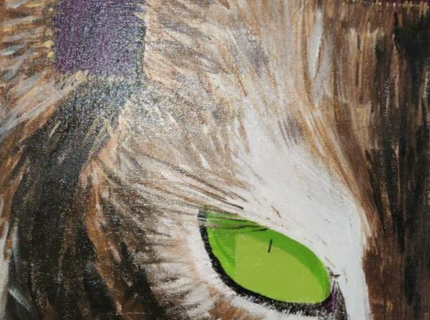 Kittio. Acrylic. NFS