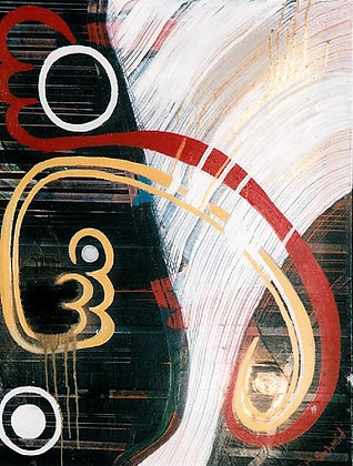 Abstract with Gold - Eliza M. Schmid