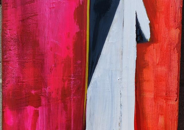 Faith. 40x16. Acrylic. $225