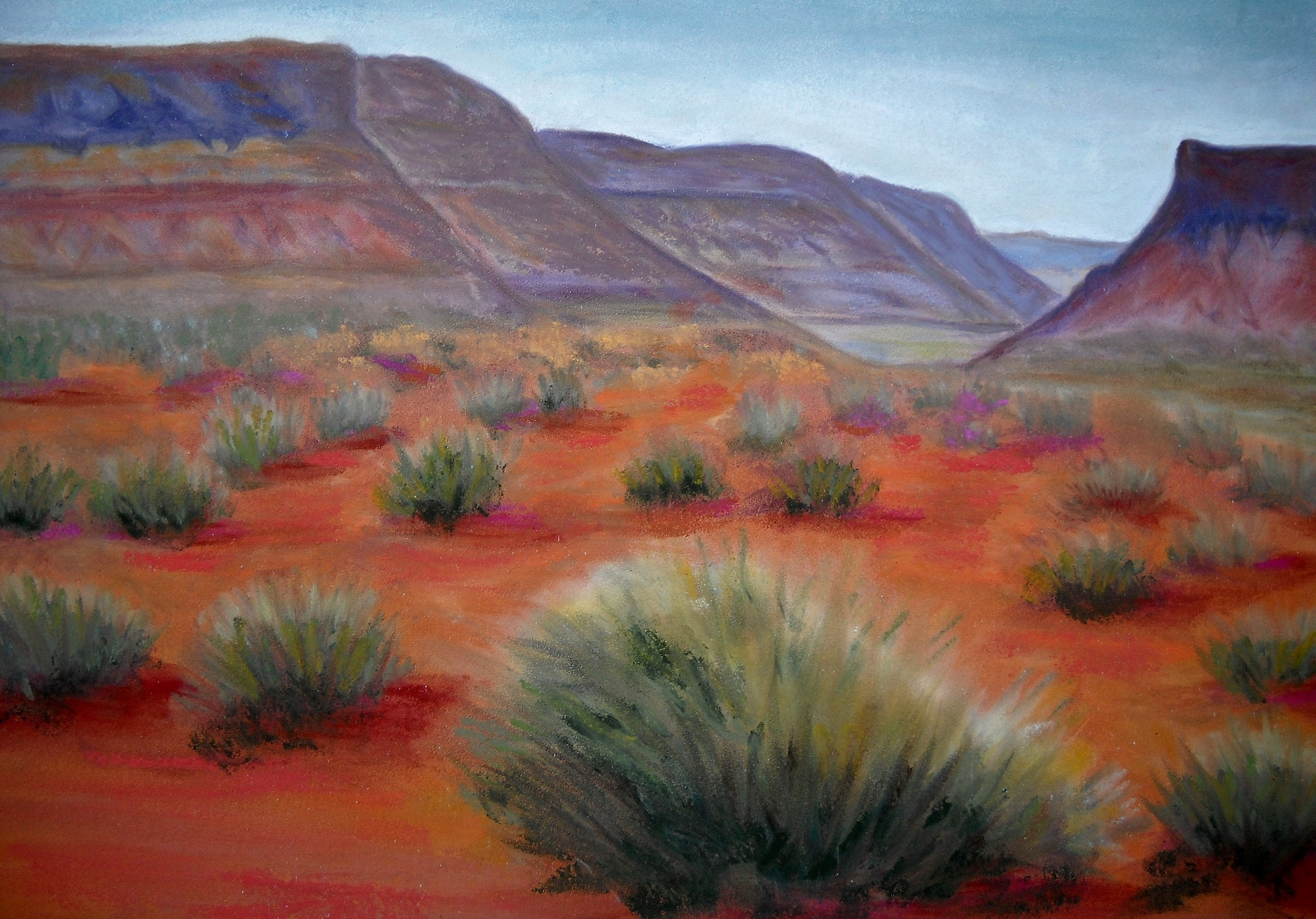 C Argue Moab Magic pastel  2011