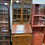 Thumbnail: Vintage Bureau with Glass Display Cabinet