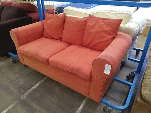 Orange Sofa 2 Seater