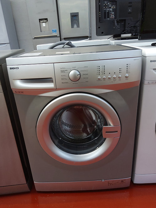 Beko Washing Machine 6kg 1300rpm (Silver)