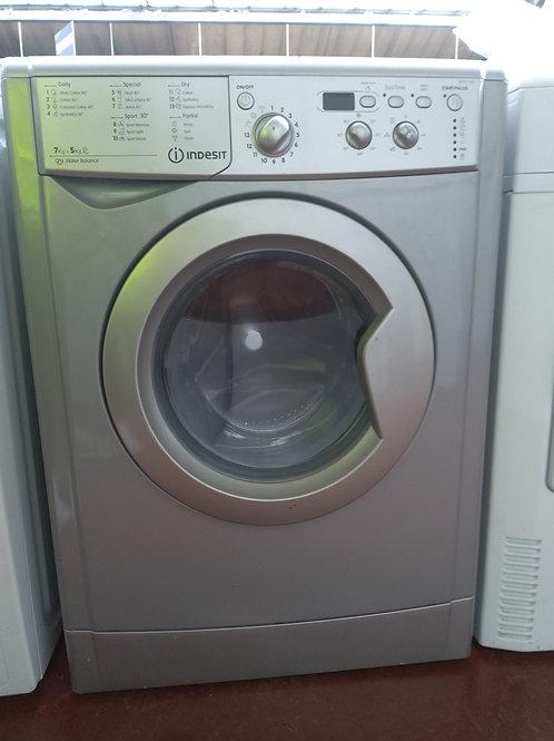 Indesit Washer Dryer 7/5kg 1400rpm (Silver)