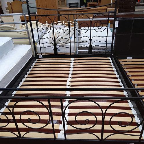 King size ikea metal bed frame