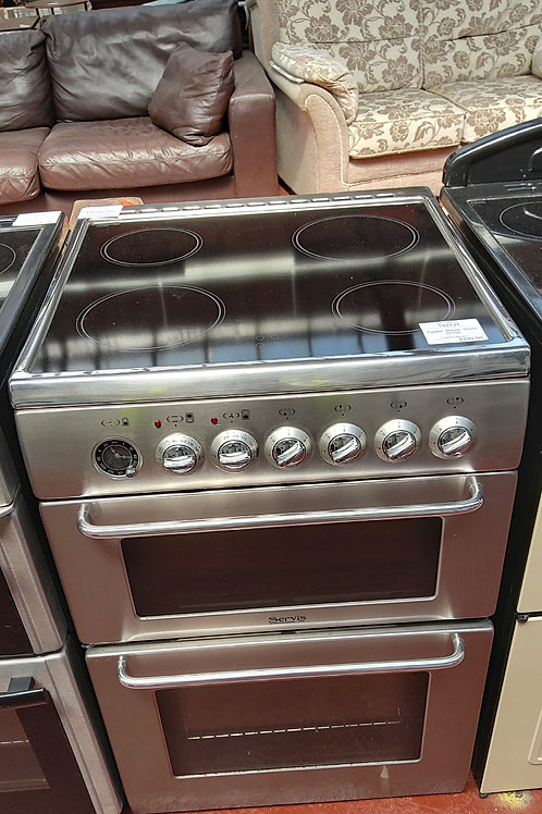 Servis Electric Twin Oven 4 hobs 60cm (Platinum)