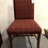 Thumbnail: Red Tartan Fabric Chair