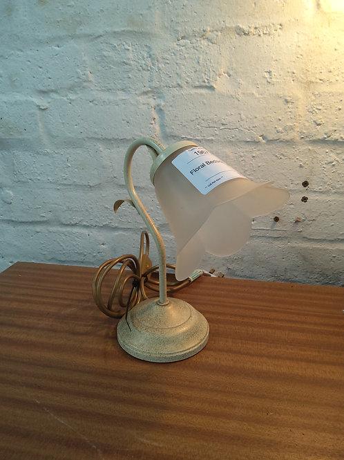 Floral bedside lamp