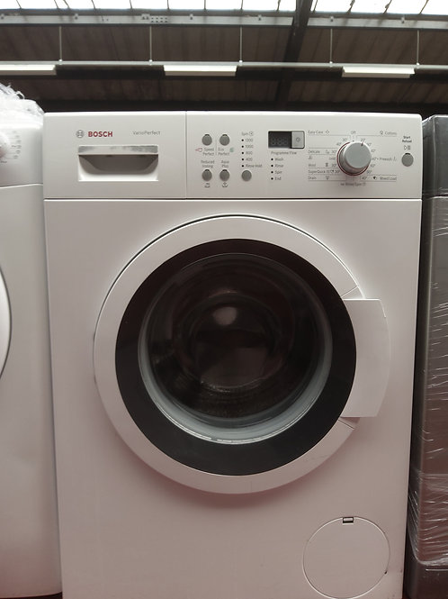 Bosch Washing Machine 8kg 1200rpm (White)