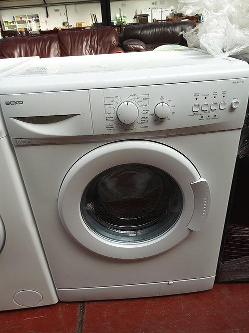 Beko Washing Machine 6kg 1100rpm (White)