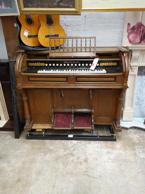 Mason and Hamlin Liszt Foot Pedal Organ