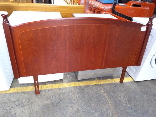 Vintage Retro Rose Wood Double Headboard